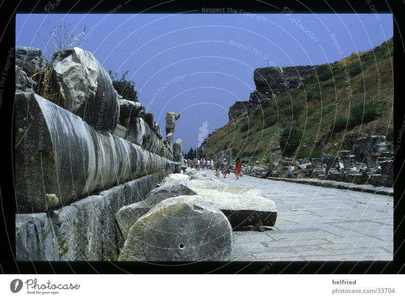 Past Historic Turkey Archeology Ephesos