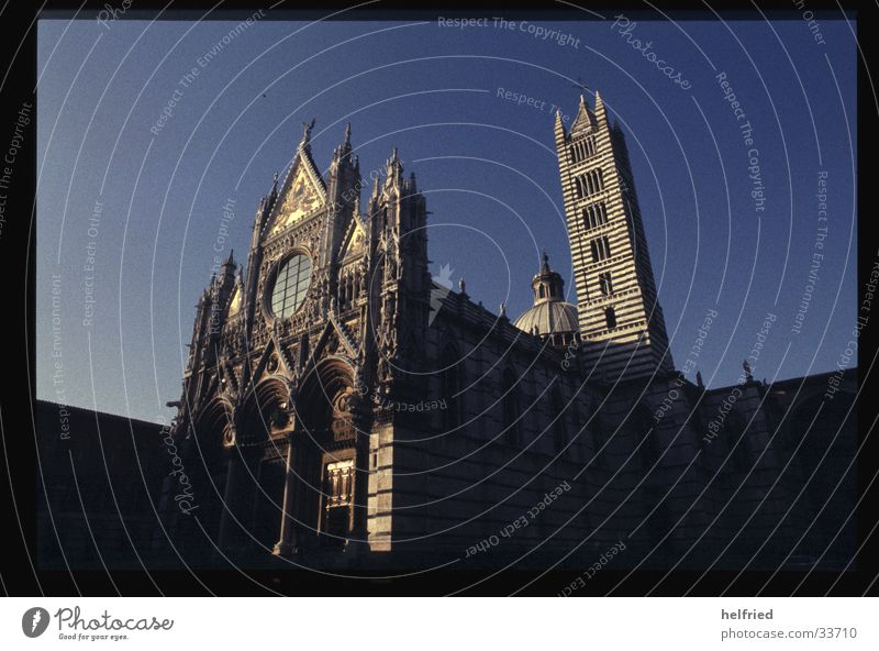 Art Architecture Europe Italy Gothic period Tuscany Cathedral Marble Siena