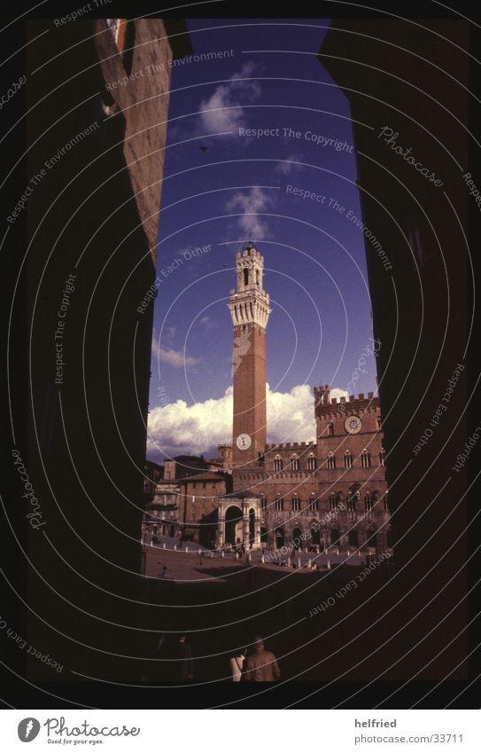 palazzo vecchio Europe Italy Tuscany Architecture Siena corso di palio