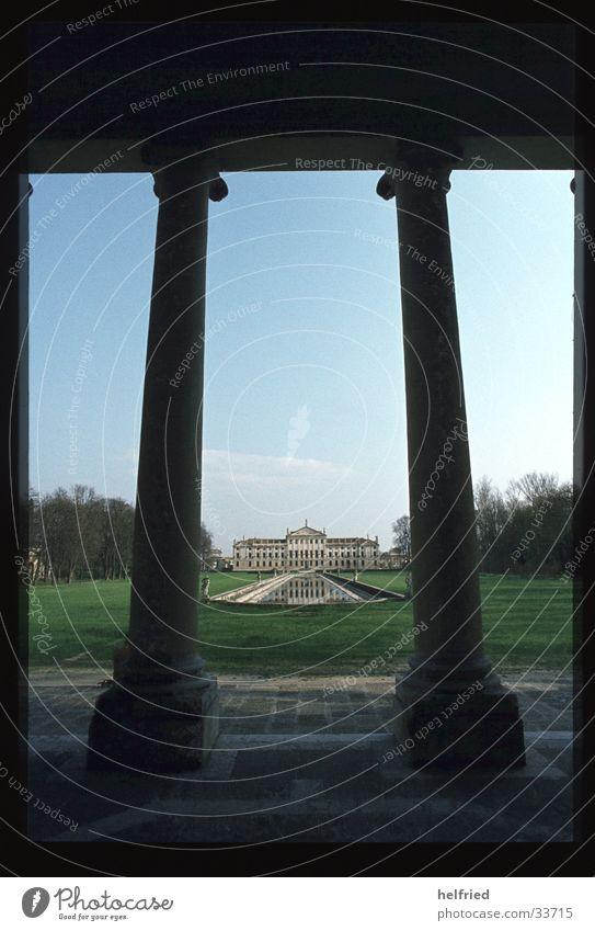 villa stra Europe Italy Villa Park Architecture Castle Perspective