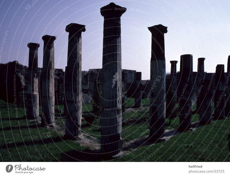 Europe Italy Historic Roman era Pompei