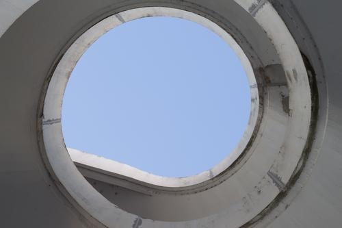 Light at the end / spiral to the sky Lifestyle Design Redecorate Stairs Adult Education Company Advancement Future Information Technology Sky Town Bridge Tunnel