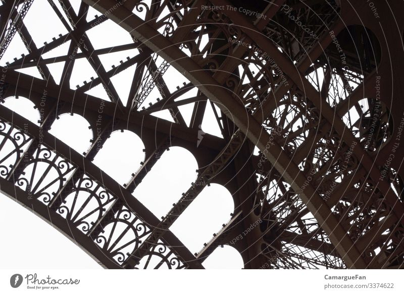 Strong and filigree Vacation & Travel Tourism City trip Paris Town Capital city Deserted Tower Manmade structures Architecture Support structure
