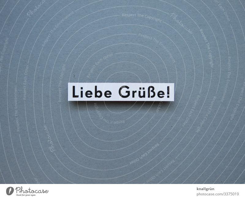 Love! communication Language Greetings Letters (alphabet) Word Colour photo Typography Communicate White Black Gray Deserted Neutral Background Studio shot