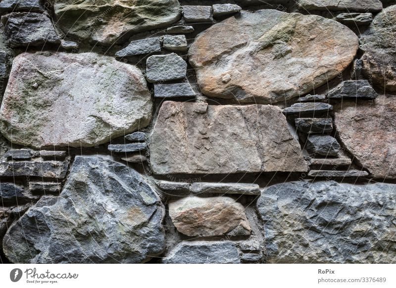 Detail of a historical wall. Wall (barrier) stone blocks Wall (building) rampart Fortress Sandstone Architecture City wall Town urban Truck castle masonry