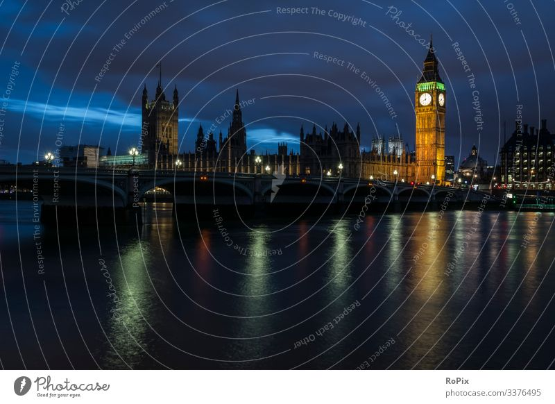 House of parliament in London. Lifestyle Luxury Style Vacation & Travel Tourism Sightseeing City trip Economy Trade Services Art Architecture Environment Nature