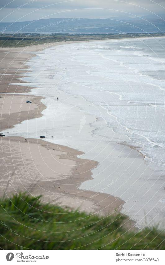 Northen beach Ocean ocean beach Beach Coast Water Vacation & Travel Ireland Waves Nature Landscape Sand Colour photo