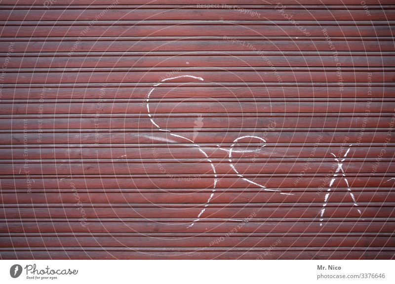 sex Sex roller shutter Closed Window Safety Graffiti Letters (alphabet) Stripe Dirty Characters Typography Puberty Sex drive Sexuality Bizarre Love Joy Vice