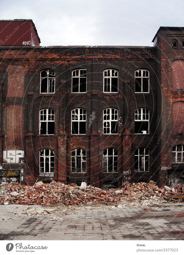 dump House (Residential Structure) Dream house Ruin Manmade structures Building Wall (barrier) Wall (building) Facade Window Roof lost places Building rubble