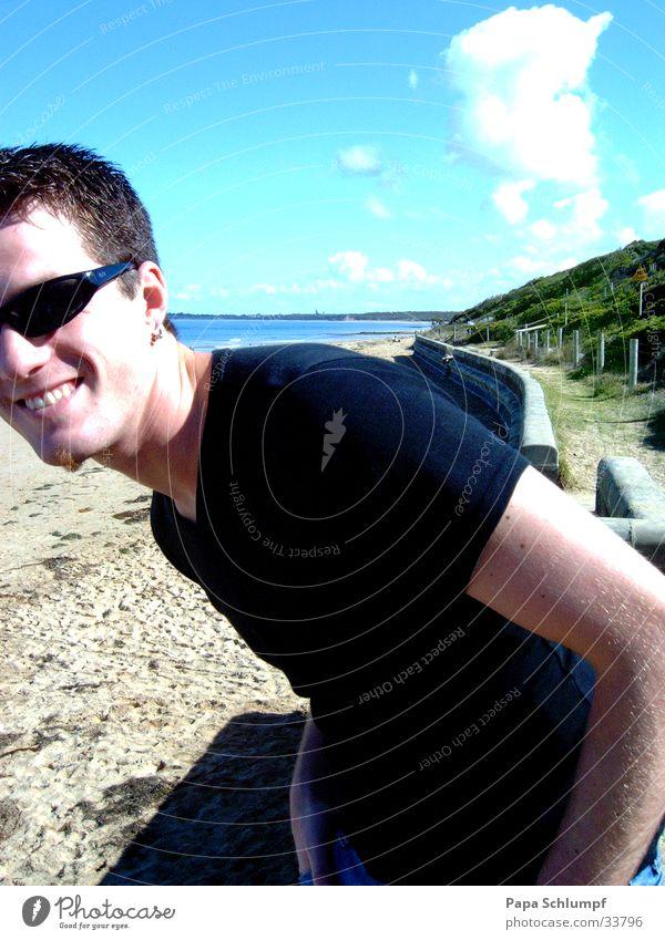 Sun Ocean Beach Sand Coast Trip Bay Grinning Australia Great Ocean Road