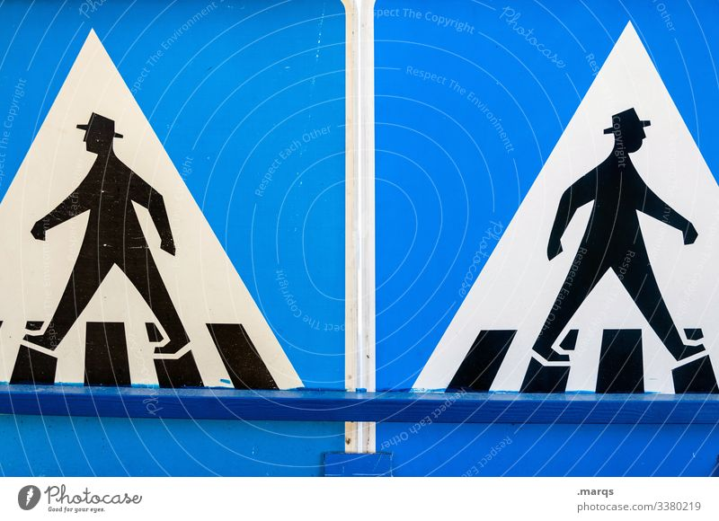social distancing Signs and labeling Road sign Pedestrian Pedestrian crossing Pictogram Going Divide Society social distance insulation gap 2