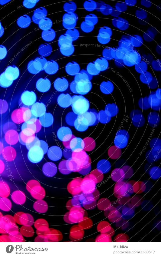 Blue light - 6 - Multicoloured Visual spectacle Reflection Glittering splotch of paint Starry sky points Illuminate Bang Light Work of art Explosion Pink Red