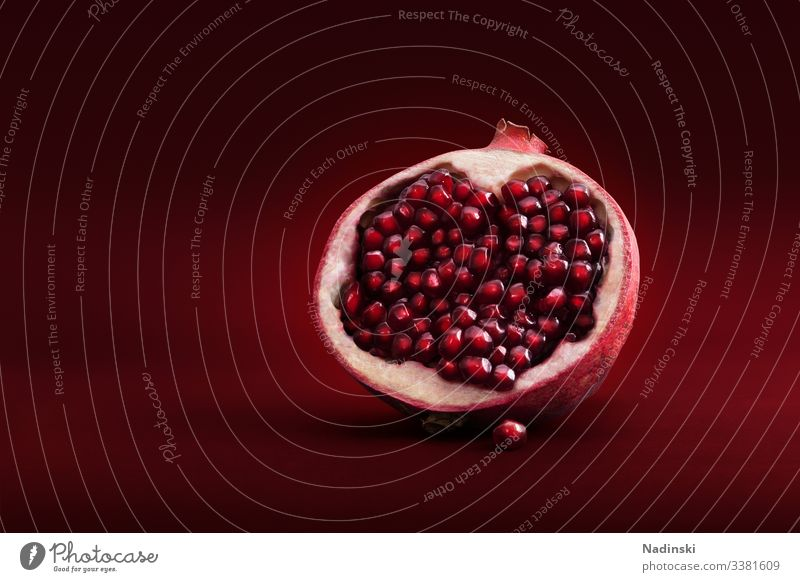 pomegranate Pomegranate Fruit Food Red Healthy Colour photo Vegetarian diet Fresh Nutrition Organic produce Deserted Delicious Diet Healthy Eating Juicy Fasting