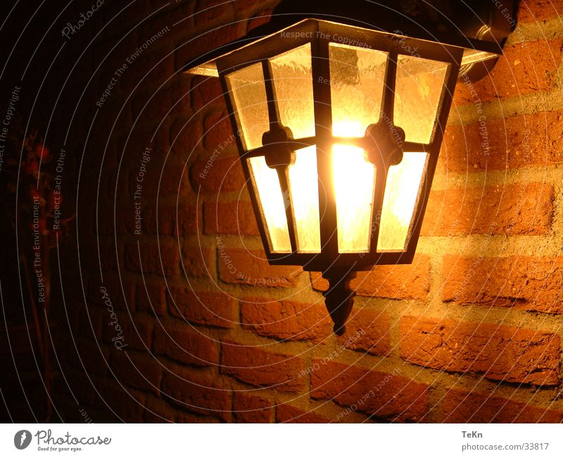 Lamp Wall (barrier) Warmth Physics Things Lantern