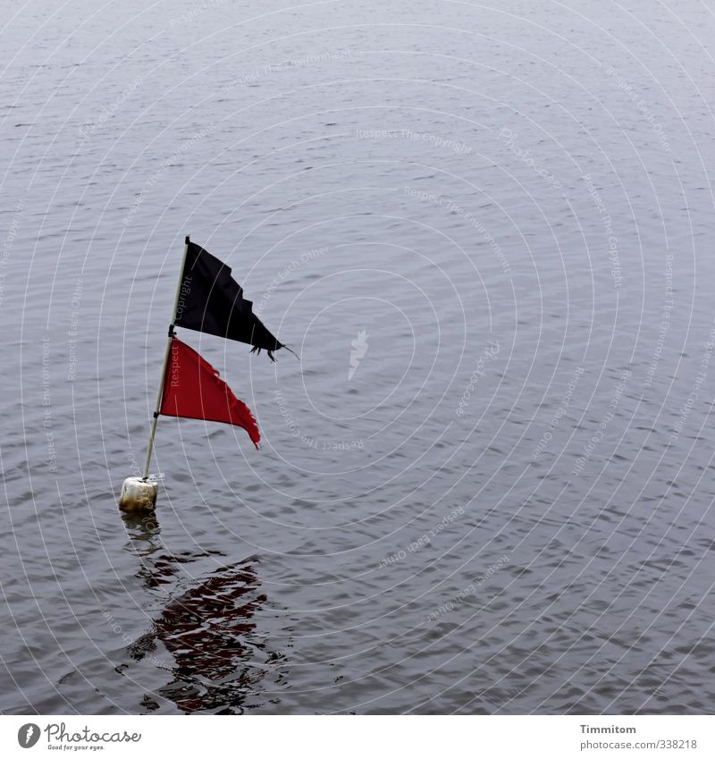 Nature Vacation & Travel Blue Water Red Black Environment Emotions Swimming & Bathing Esthetic Simple Sign Joie de vivre (Vitality) Flag Navigation Memory