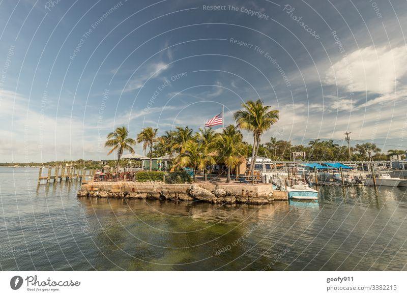 Direction Key West Florida To enjoy Far-off places Freedom Coast ocean Colour photo Exterior shot Sun Wanderlust Vacation & Travel Sunlight Sky