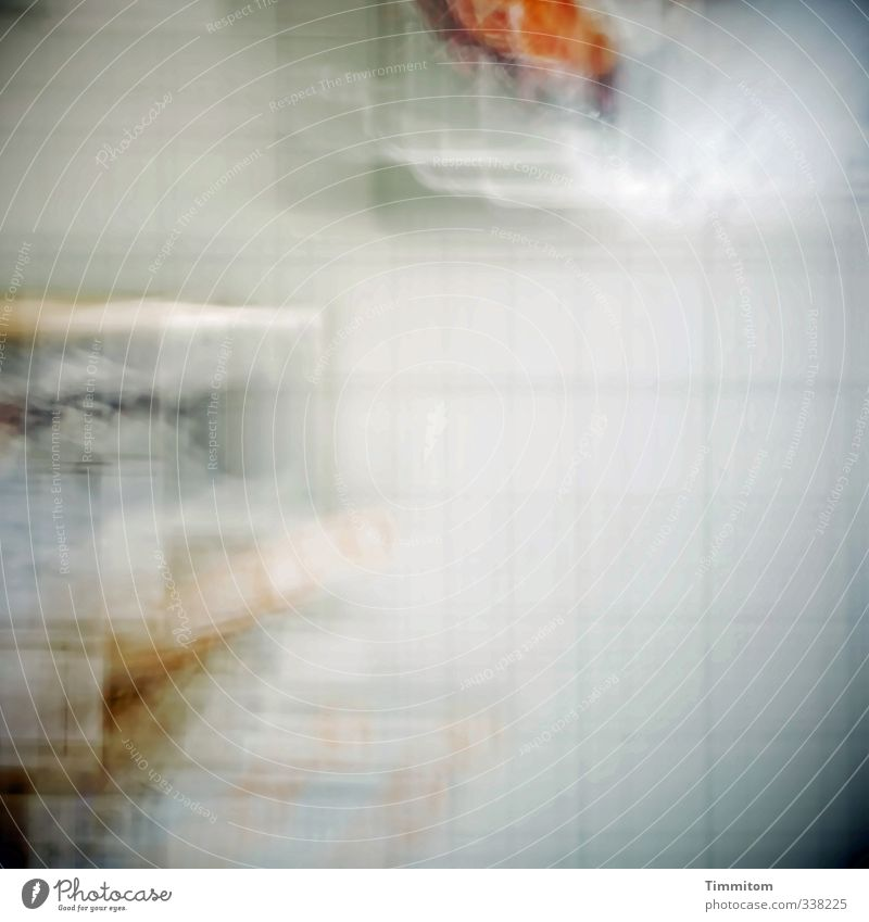 300. Wall (building) Tile Movement Looking Bright White Emotions Dream Curiosity Irritation Blur Perspective Deep effect Colour photo Interior shot Deserted Day