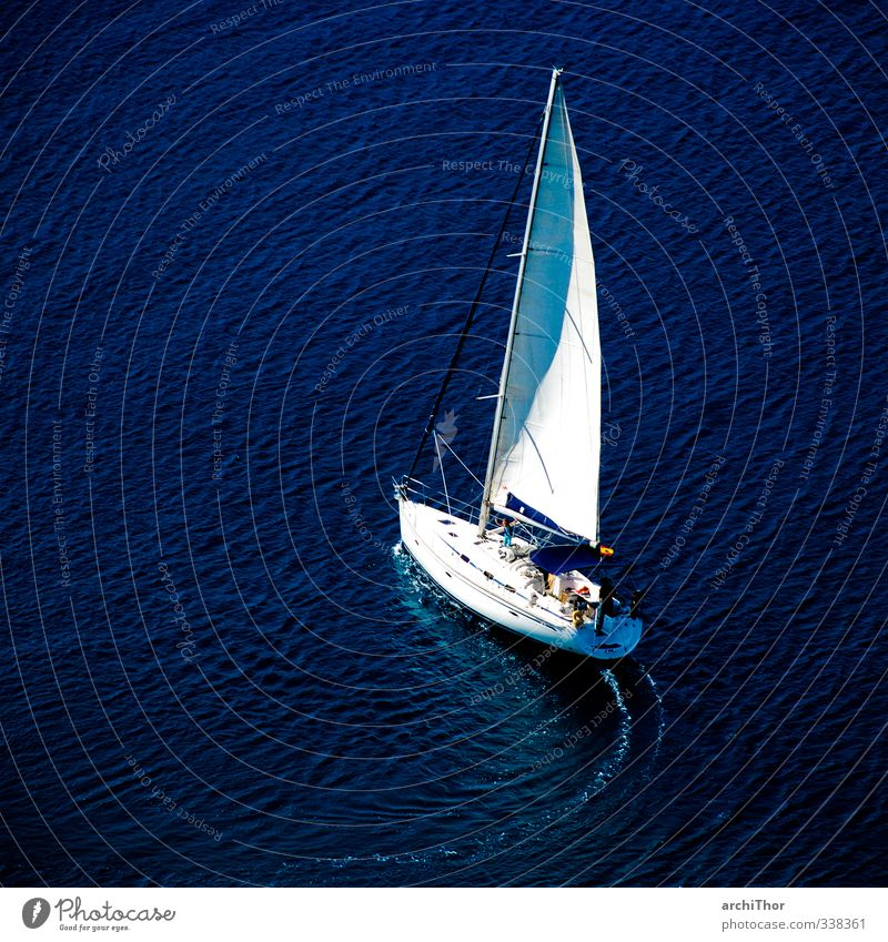 Vacation & Travel Blue Water Summer Sun Ocean Relaxation Far-off places Sports Freedom Coast Waves Wind Elements Adventure Navigation
