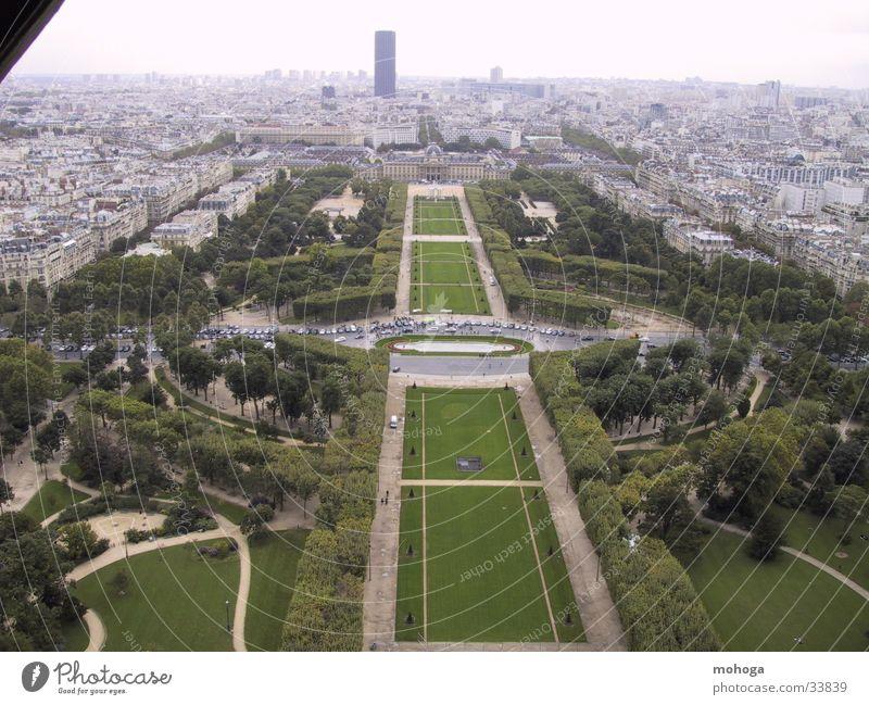 Park Europe Paris Eiffel Tower