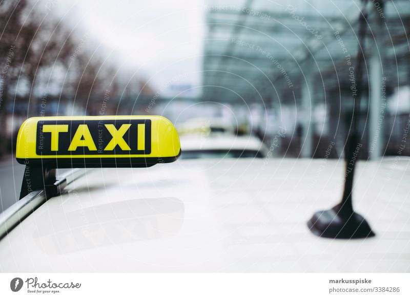 Taxi Airport Arrival Nuremberg display arrivals hall landing vacation Return Digital Display departure Taxidriver Taxi rank Mobility Transport