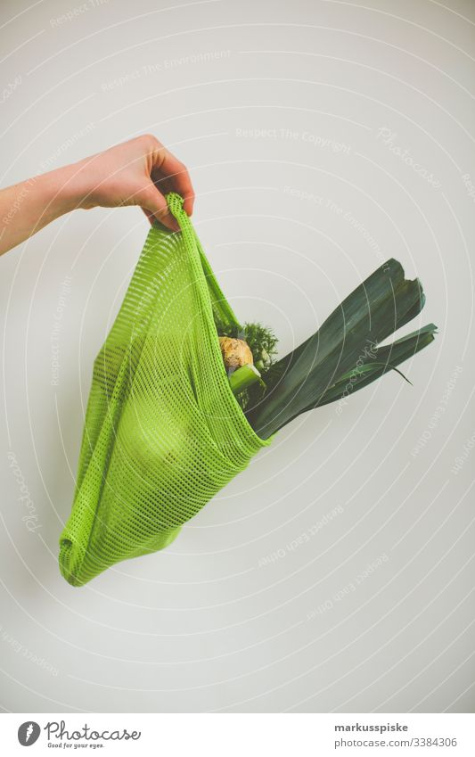 Cotton net bag fresh organic vegetables biography Agriculture heyday Breed breeding Broccoli Kohlrabi Carrot controlled agriculture Cotton mesh bag Zucchini
