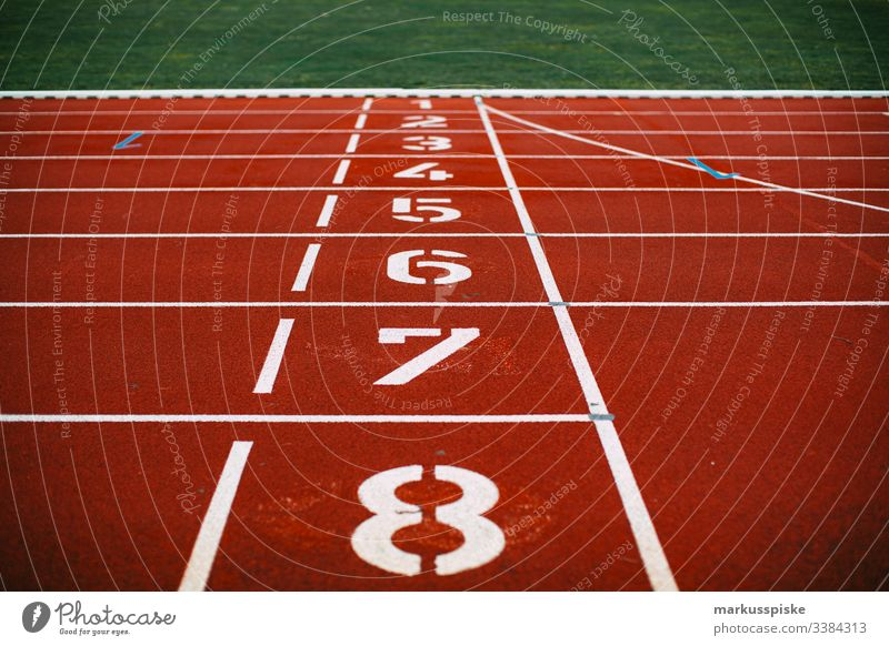 Athletics synthetic track Starblock Track and Field Plastic sheet Sports Sporting Complex Racecourse Starting block (track and field) Numbers Public service bus