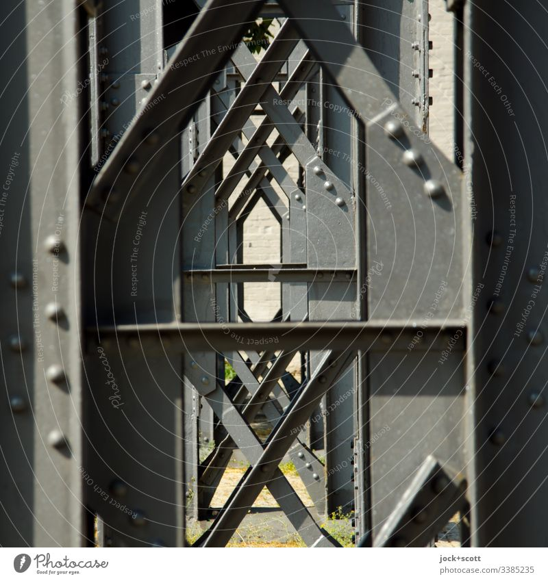 A support rarely comes alone Vista Steel carrier pillar construction Architecture Stud Detail Aspire Section of image Partially visible Construction