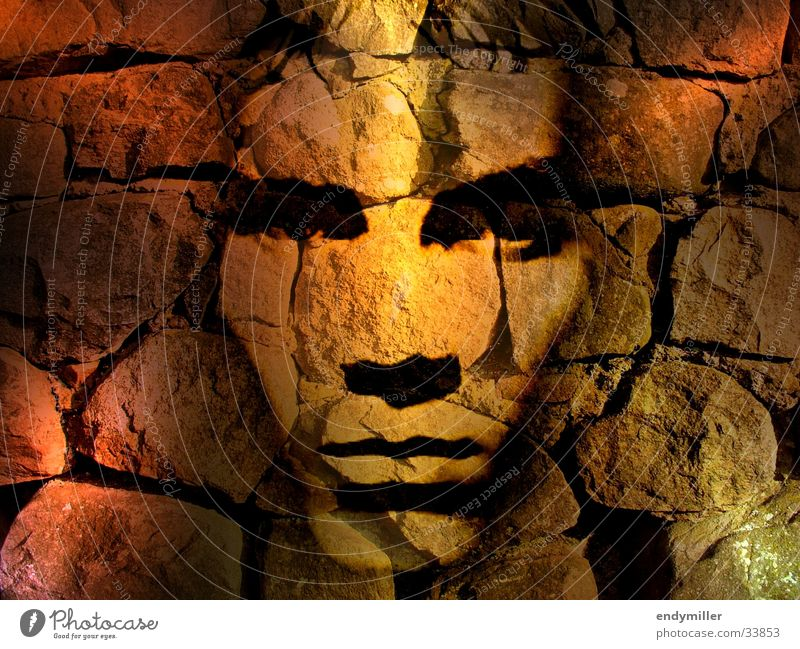 Man Face Wall (barrier) Collage Image editing Photographic technology