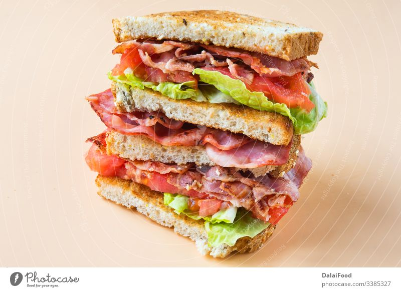 A BLT is a type of sandwich, named for the initials of its primary ingredients, bacon, lettuce and tomato blt blt sandwich bread cholesterol club sandwich
