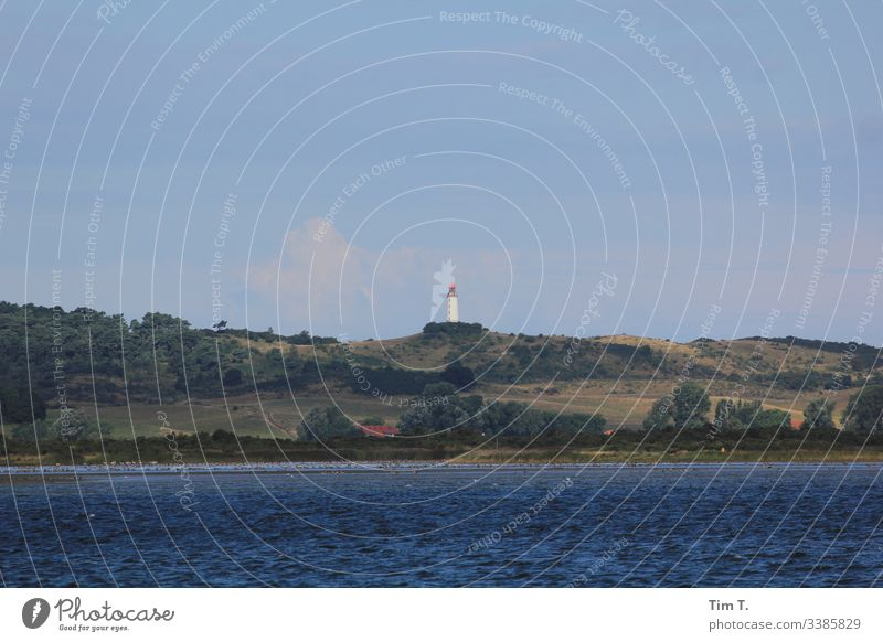 Hiddensee Island Baltic Sea Lighthouse sailing Sailing Summer