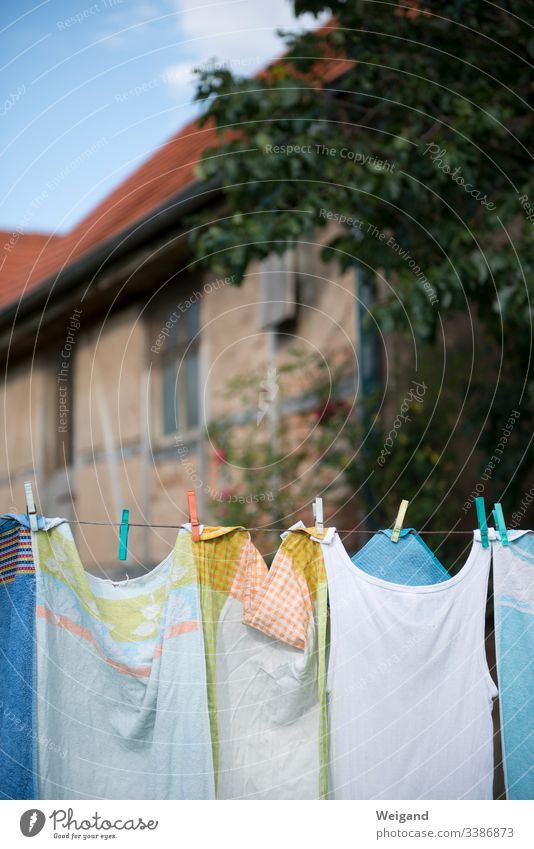 clothesline housework country lust Laundry Clothesline Dry staples Clothes peg Garden Country life