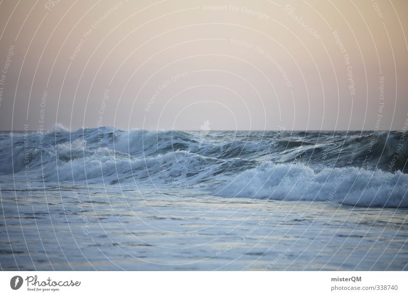 wavenoon. Exotic Art Esthetic Contentment Waves Swell Undulation Wave action Wavy line Wave break Crest of the wave Summer Summery Summer vacation Ocean
