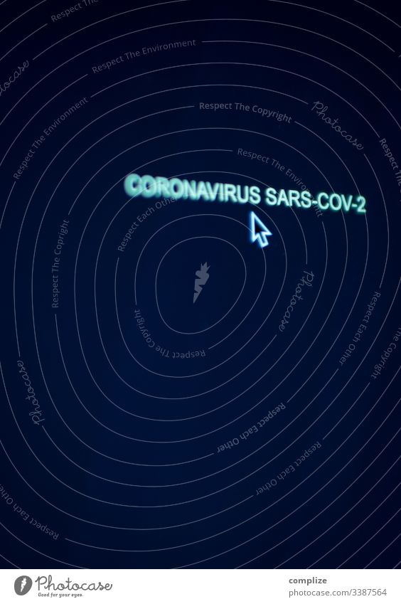 Coronavirus Computer Screen with cursor coronavirus screen Virus sars medicine Doctor risk of contagion torch Protection Face mask picture background Text Ask