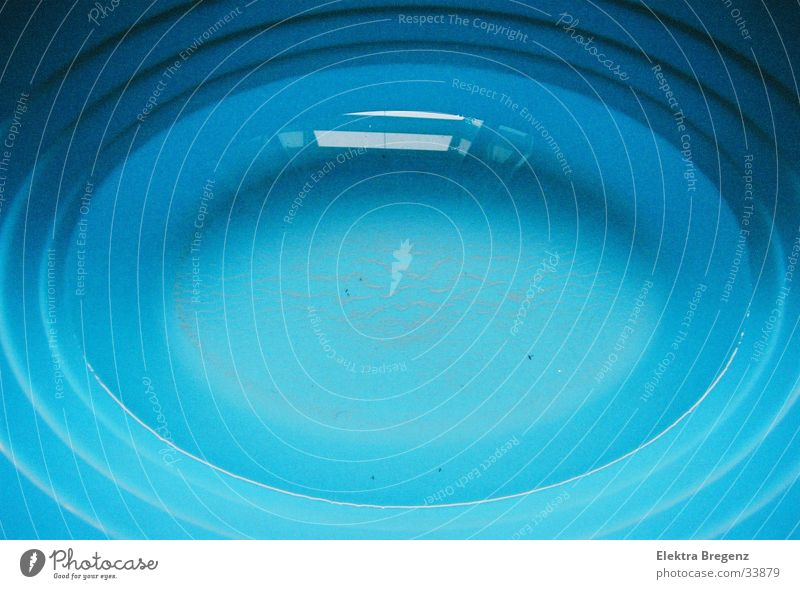 Water Blue Bathtub Abstract Oval Photographic technology