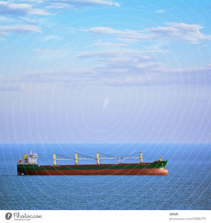 Bulk Carrier Ship aqua aquatorium black sea boat bulk carrier bulker cargo ship cloud control cabin deck-cabin deckhouse dry-cargo ship general cargo high sea