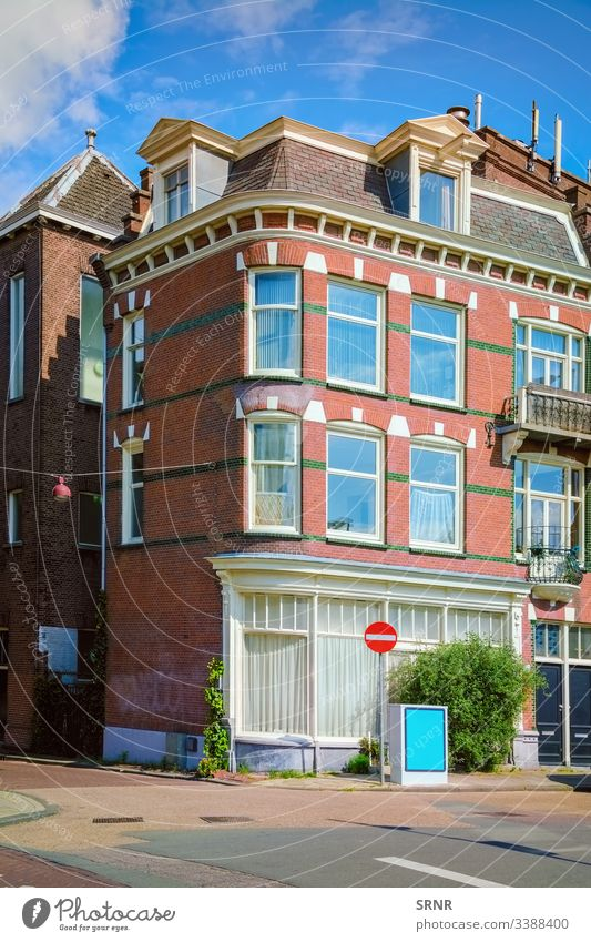 Corner House Amsterdam architectural architecture building Buildings city corner corner house district europe exterior facade habitation Holland home houses
