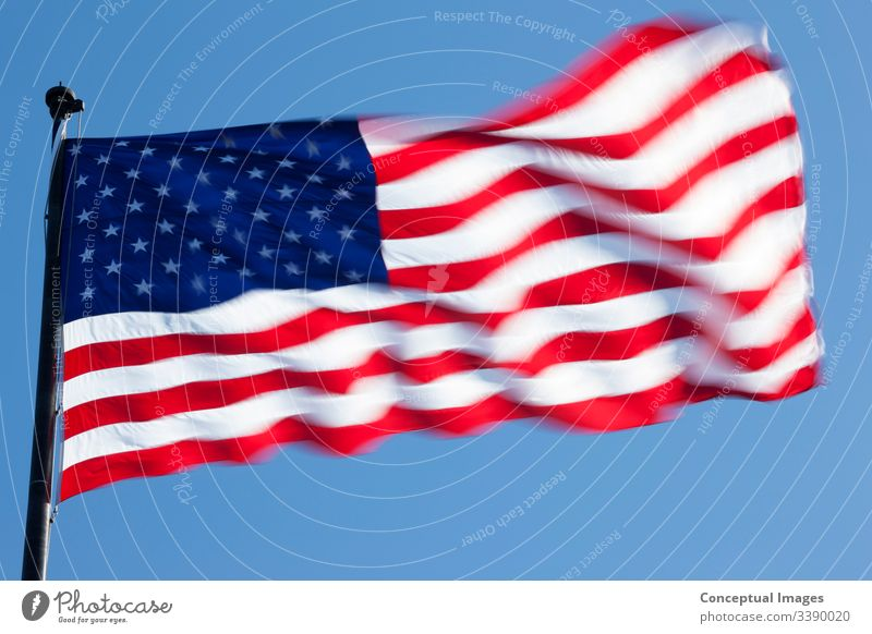 US Flag, the flag of the United States of America america american banner blue country freedom nation national patriot patriotic patriotism pride red star state