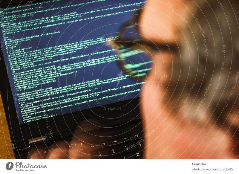 Hacker hacker attack developer development Chop Program Software