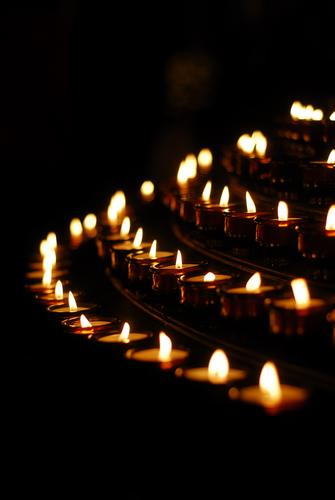 candles Candlelight Grief Funeral service Church pray Prayer darkness Christianity Spirituality silent Hope Easter