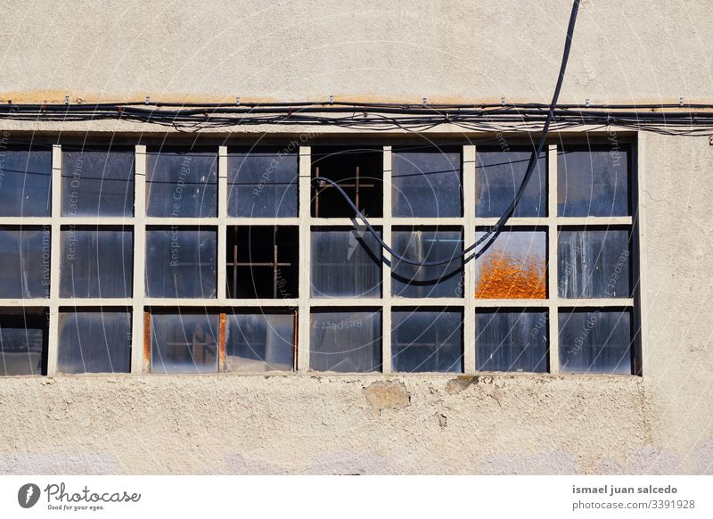 window on the old facade of the house in Bilbao city Spain building exterior balcony home street outdoors color colorful structure architecture construction