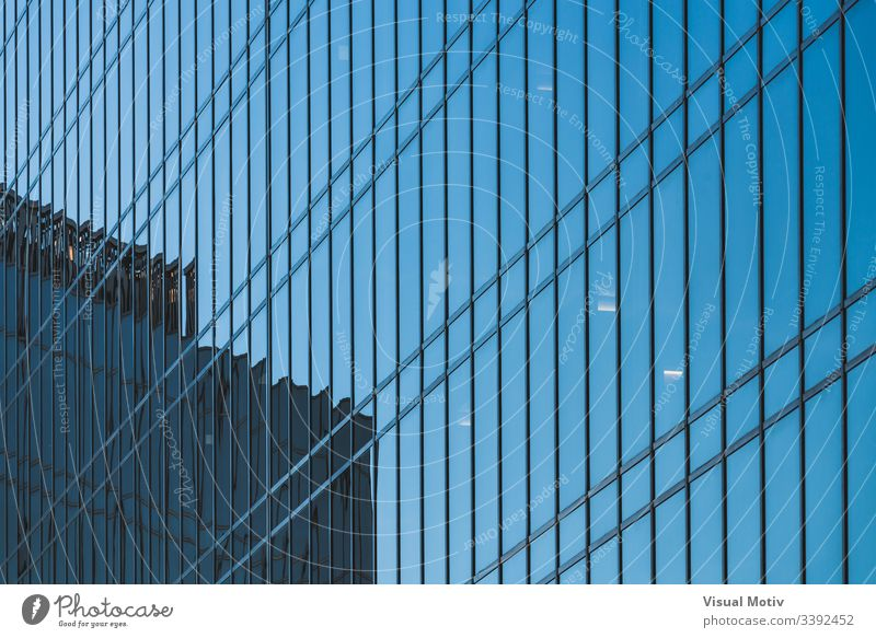 Glass facade of an office building abstract abstract background abstract photography afternoon architectonic architectural architecture building design