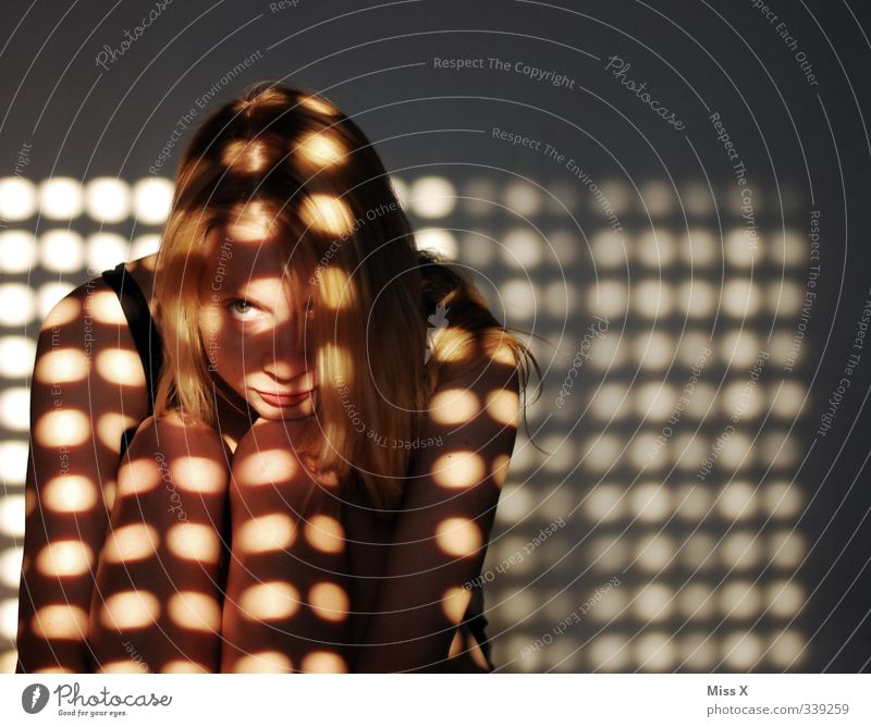 Human being Woman Youth (Young adults) Loneliness Adults Window 18 - 30 years Feminine Illuminate Point Hide Shadow play Shadowy existence Shadow child