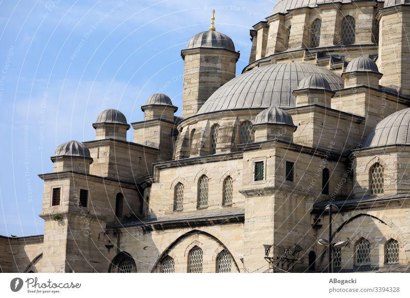 New Mosque in Istanbul mosque istanbul turkey historic landmark building religious structure architecture exterior outdoor heritage camii sultanahmet travel
