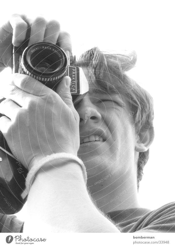 Man Camera Photographer