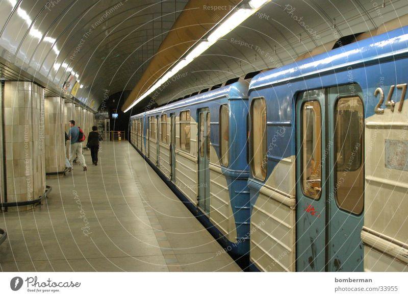 Metro 4 Underground Transport