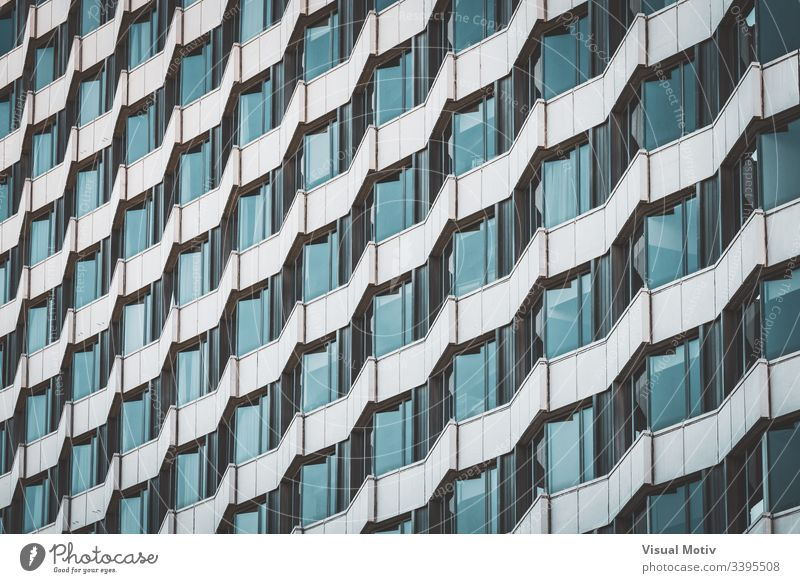 Irregular facade of an urban building creating a pattern abstract abstract background abstract photography afternoon architectonic architectural architecture