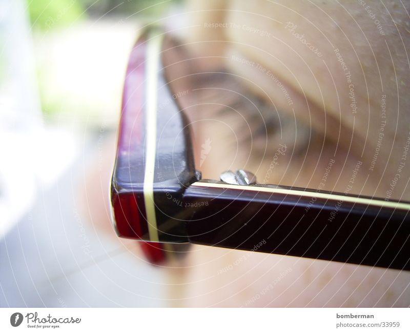 the glasses Eyeglasses Macro (Extreme close-up) Close-up Eyes