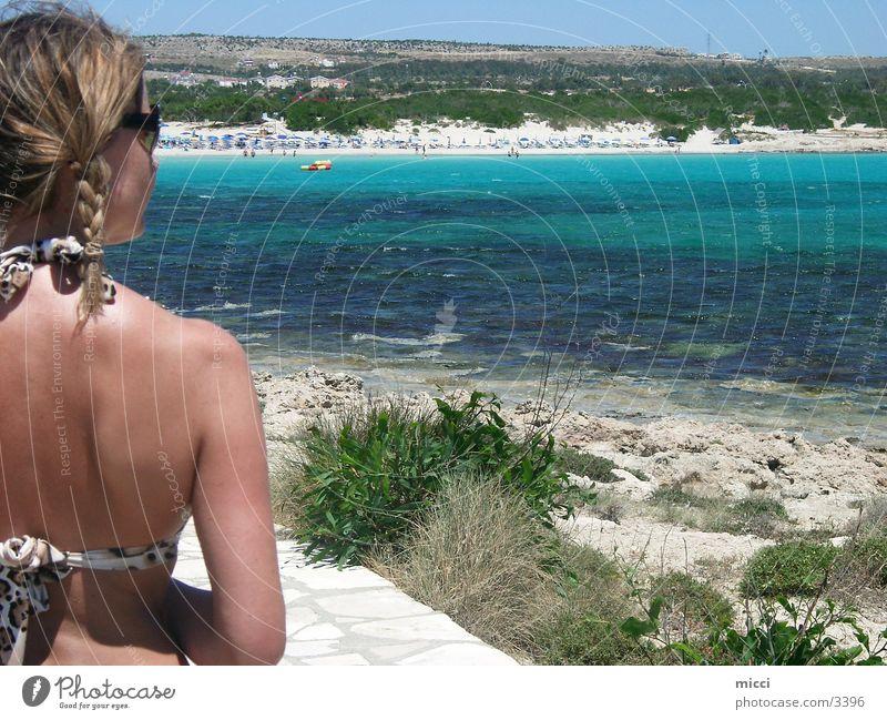Nature Sun Ocean Beach Vacation & Travel Sand Europe Bikini Cyprus