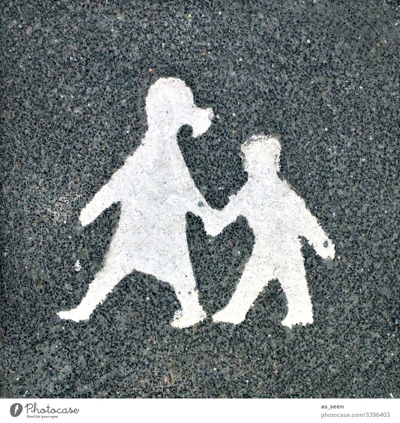 Mother and child Stone Ground Child relation Woman Family & Relations Infancy Transport Traffic infrastructure Caregiving attentiveness Motherly love