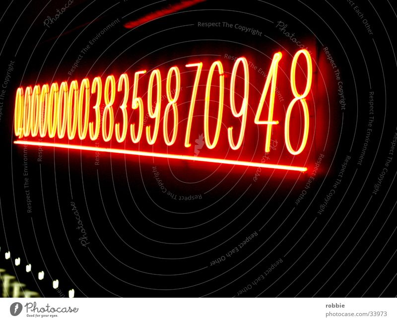 Lamp Dark Technology Digits and numbers Electrical equipment